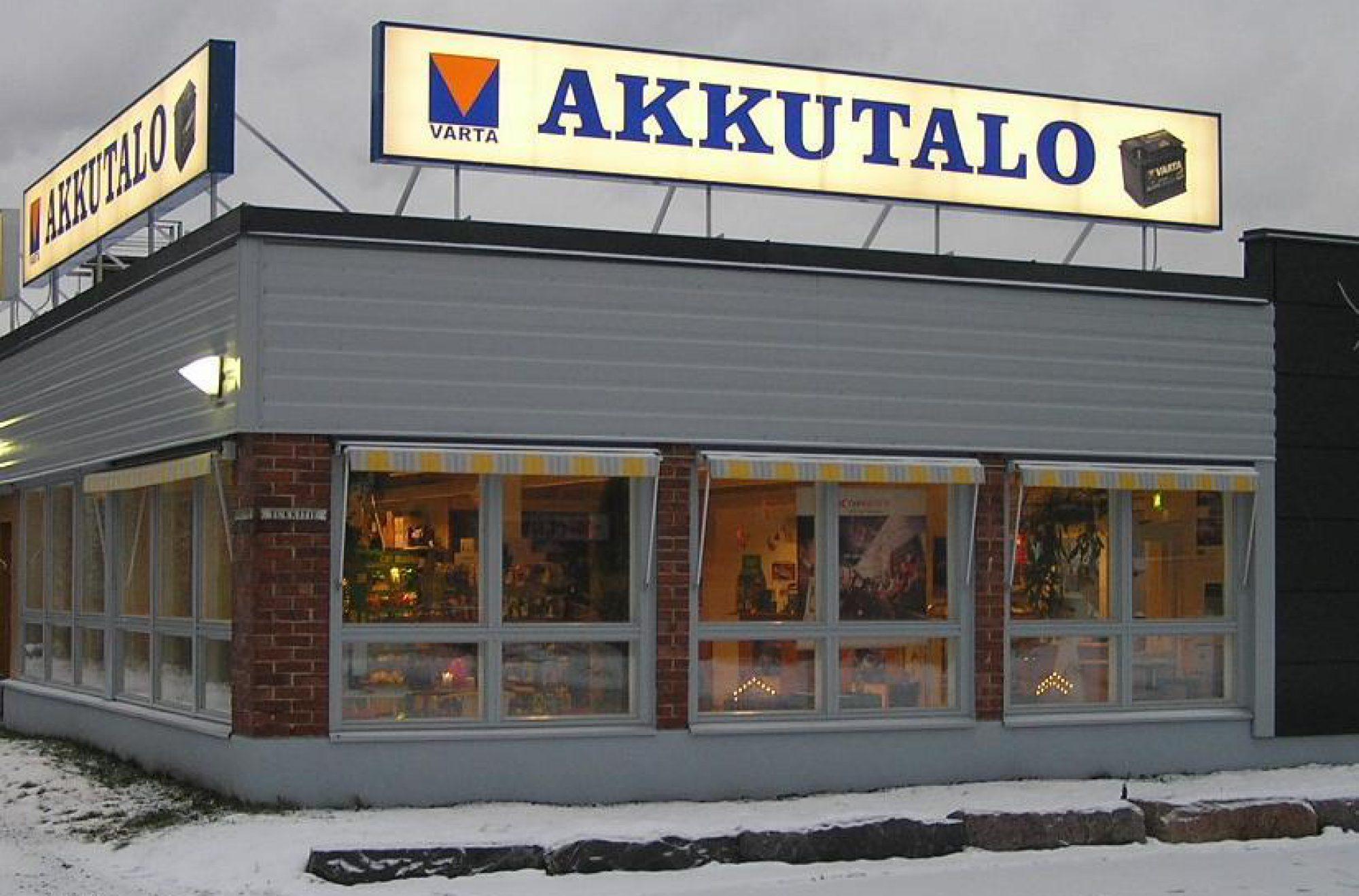 Akkutalo Markuksela
